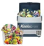 Koolatron SmartKool SK50 Portable Cooler Freezer 54 Quart / 50L Bluetooth Enabled 12V DC/110V AC Refrigerator for Travel, Camping, Car, Truck, Boat, RV, Tailgate, BBQ, Hotel