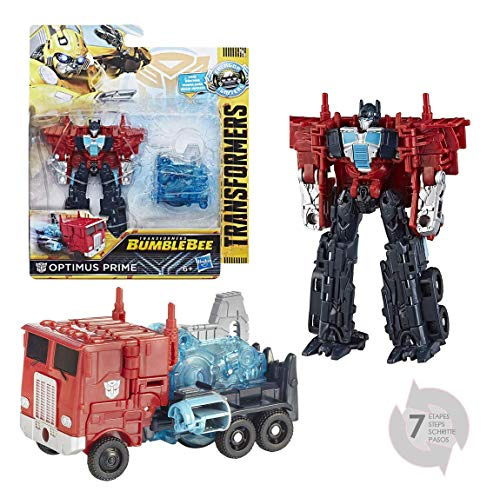 Transformers Saga - Robot Propulsion Optimus Prime Camion Power Plus Series 11cm - Jouet Transformable 2 en 1