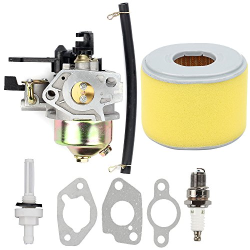 Butom New Carburetor Carb with Gasket Spark Plug Air Filter for Honda GX240 8.0HP GX270 9HP Engine Replaces #16100-ZE2-W71
