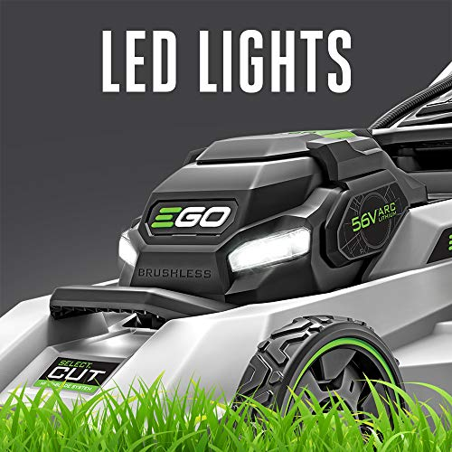EGO Power+ LM2130SP 21-Inch 56-Volt Cordless Select Cut Lawn Mower with Touch Drive Self-Propelled Technology Battery and Charger Not Included
