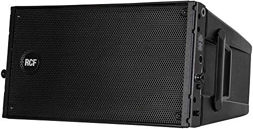 """RCF HDL10A 1400W Line Array Module, 65Hz-20kHz Frequency Response, 133dB Maximum SPL, 100-15 deg. Coverage Angle, 2x 8.0"""" Woofer, 2.0"""" Compression Driver"""