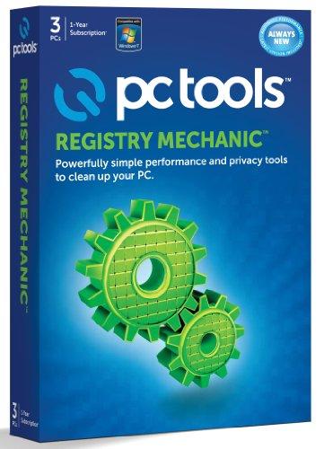 PC Tools Registry Mechanic 2012 - Full Package Product - 3 PCs in einem Haushalt