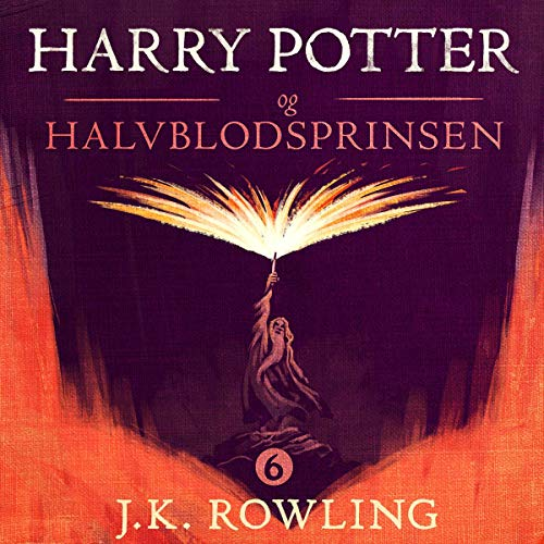 Harry Potter og Halvblodsprinsen audiobook cover art