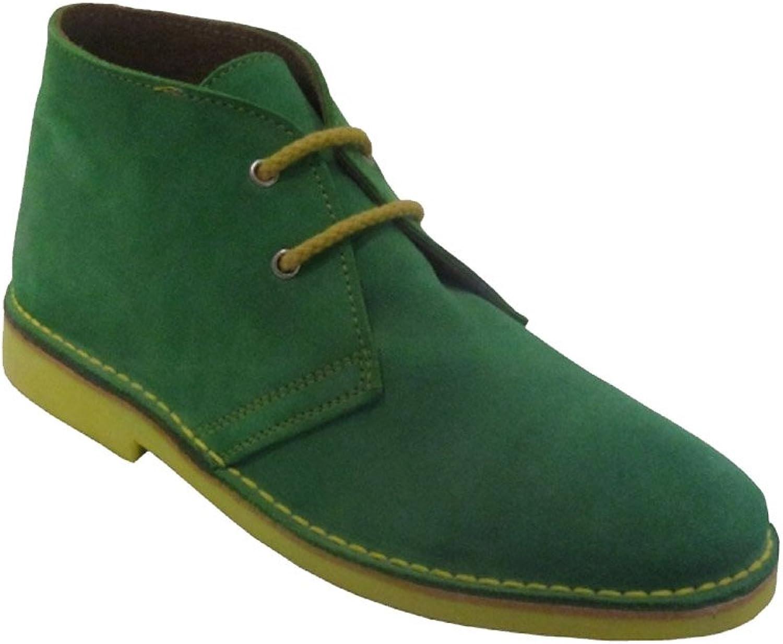 La Auténtica K100PC - Desert Boot Italian tip Combined, Unisex Adult, Light Green - Yellow