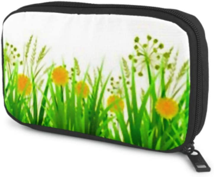 Fixed price for sale Electronics Accessories Organizer Bag Green Grass Regular discount Summer Spring