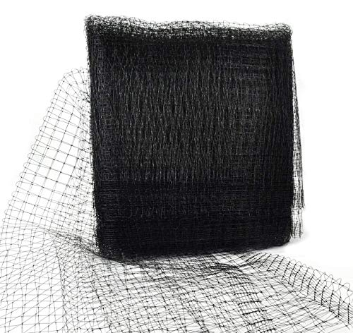 SUREH 7 x 100Ft Heavy Duty Bird Netting Reusable Mesh Garden Net Large Garden Farm Plants Fencing Mesh Fruits Protector Durable Fish Ponds Cover 2cm Mesh