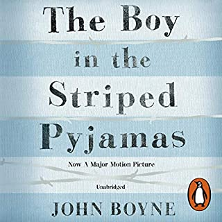 The Boy in the Striped Pyjamas                   By:                                                                                                                                 John Boyne                               Narrated by:                                                                                                                                 Michael Maloney                      Length: 4 hrs and 55 mins     46 ratings     Overall 4.7