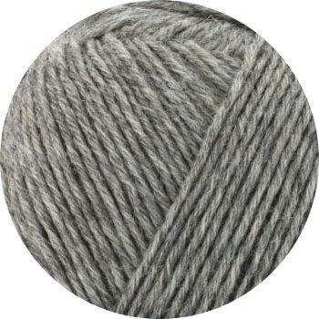 LANA GROSSA MEILENWEIT 6-fach uni, 8961 - Grau meliert