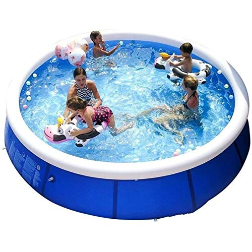 Qazxsw Piscina Infantil/de baño inalfilable de Gran tamaño para Exteriores/Espesado Grande para Adultos y niños en casa Piscina