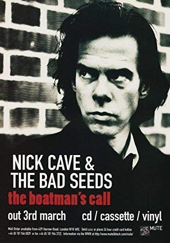 Generic Nick Cave & The Bad Seeds The Boatman? S Call Foto Poster Skeleton Tree 06 (A5-A4-A3) - A4