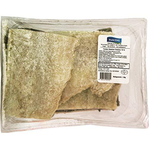 Bacalhau salgado - Getrockneter Kabeljau 1,5 Kg
