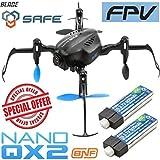 Blade BLH9180 Nano QX2 FPV BNF Mini Quadcopter w/...
