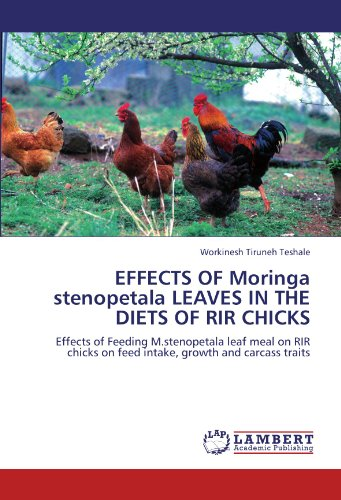 EFFECTS OF Moringa stenopetala LEAVES IN THE DIETS OF RIR CHICKS: Effects of Feeding M.stenopetala leaf meal on RIR chicks on feed intake, growth and carcass traits