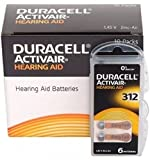 Best 312 Hearing Aid Batteries - 60 x Size 312 / BROWN - DURACELL Review