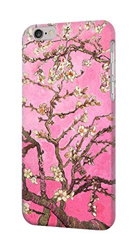 R2449 Pink Blossoming Almond Tree Van Gogh Case Cover For IPHONE 6S PLUS