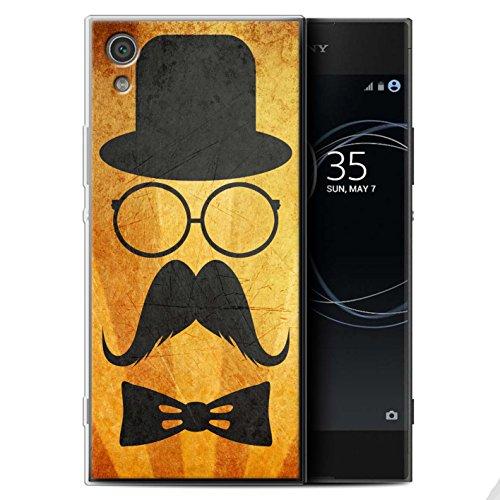 Stuff4 Var voor Sony Xperia Retro Moustache Sony Xperia XA1 Stuur/Bril