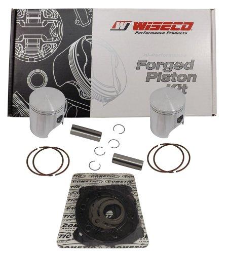 Wiseco (SK1292) 76.00mm 2-Stroke Piston Kit for Ski-Doo Snowmobile