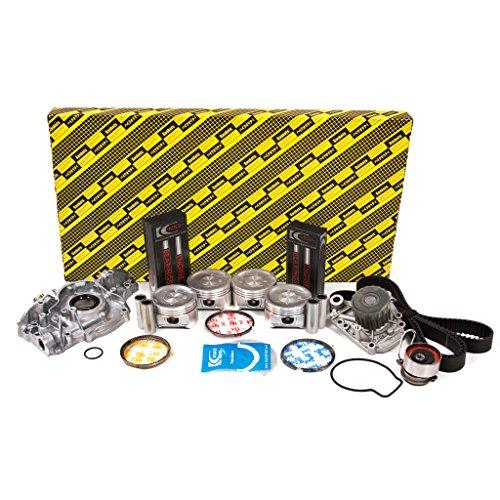 Evergreen OK4038/2/2/2 Fits 01-05 Honda Civic DX LX 1.7L SOHC D17A1 Engine Rebuild Kit