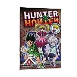 JIANHAODF Anime Hunter X Hunter Dvd Volumen 2 Póster decorativo de lienzo para pared, sala de estar, dormitorio, 60 x 90 cm