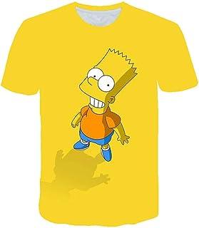 RITIOA Camiseta de manga corta 3D con diseño de monstruo feo, blusa cómoda, informal, de moda, primavera, verano, blusas s...