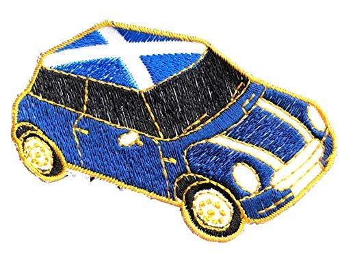 Emblems-Gifts mit Schottland Andreaskreuz Am Dach Bestickt Aufnäher