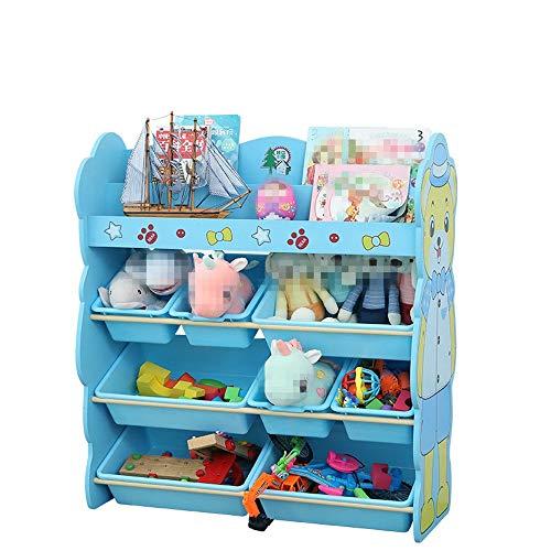 Coffre à jouets pour enfants Enfants Toy Stockage Organisateur Bins - for l'organisation de jouets for bébés Jouets enfants Rangement Jouets for chiens Jouets for bébé Vêtements for enfants Livres Cof