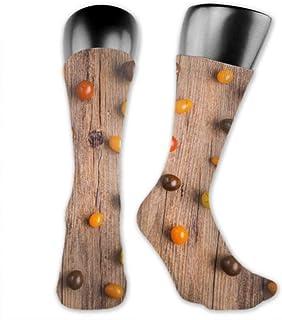 Leila Marcus, Calcetines para hombre y mujer, cómodos, ligeros y sudorosos, divertidos tomates, medianos y largos