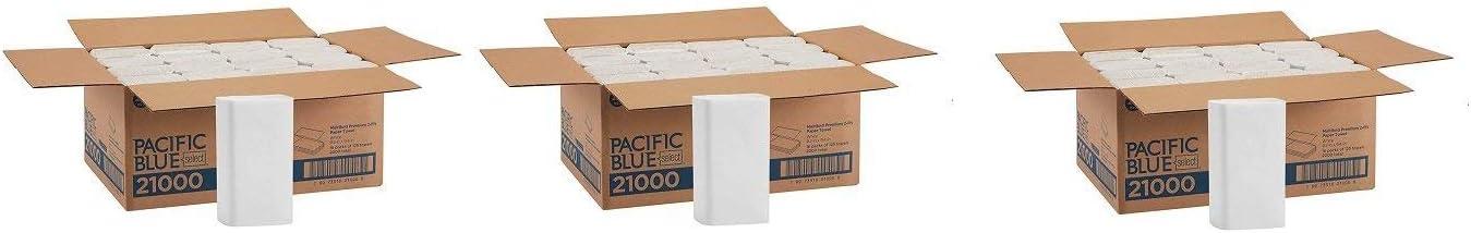 Pacific 保障 Blue Select Multifold Premium Paper Towels Previo 割り引き 2-Ply