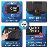 2x Park Lite elektronische Parkscheibe digitale Parkuhr blau mit offizieller Zulassung - 2 Stück Set