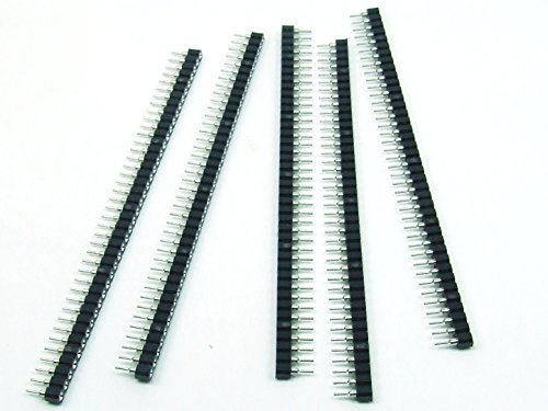 POPESQ® 5 STK. / pcs.x BUCHSENLEISTE IC SOCKEL/Header ICSocket 40 polig 2.54mm Ausschneidbar Cutable #A245