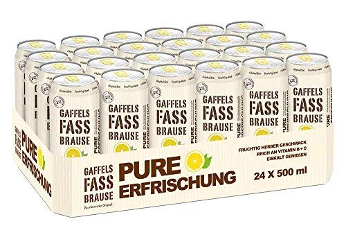 Gaffels Fassbrause 24 x 0,5l Dose inkl. 6 Euro EINWEG Pfand