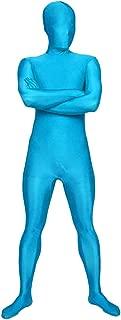 blue lycra suit