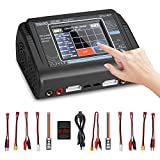 HTRC Lipo Charger 1-6S Touch Screen Dual Discharger AC150W DC240W 10A T240 Fast...