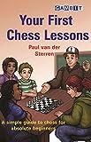 Your First Chess Lessons-Van Der Sterren, Paul