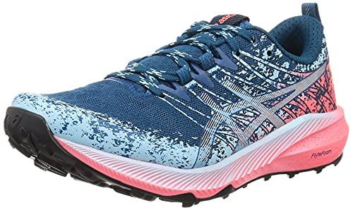 ASICS Fuji Lite 2, Zapatillas de Running Mujer, Bleu Foncã Gris, 42 EU