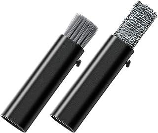 BESPORTBLE 2Pcs Escova de Ventilação Do Carro de Saída de Ar Do Carro Escova Poeira Mini Blind Cleaner Escova de Mão Escov...