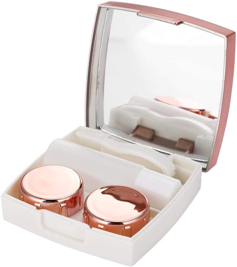ANGGREK Detroit Mall National products Set of 4 Contact Mini Travel Lens Case Hold