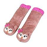 Calcetines de Navidad de algodón cálidos para mujer, de felpa suave, para interior 171023
