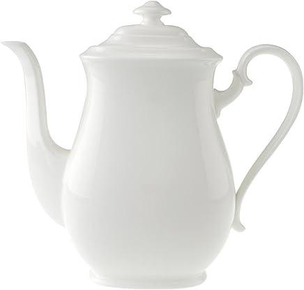 Preisvergleich für Villeroy & Boch Royal Kaffeekanne, 1,1 l, Premium Bone Porzellan, Weiß