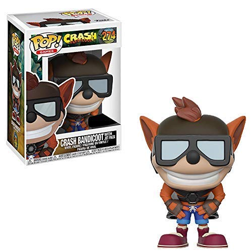 Funko Crash Bandicoot Idea Regalo, estatuas, collezionabili, Comics, Manga, Serie TV, Multicolor, 25645
