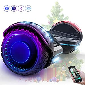 EverCross Diablo Patinete Eléctrico Scooter Hover Board LED ...