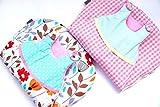 bab-berlin 0–6Monate Baby Schlafsack Gr. 70in Blau/Grau, ganzjahres Schlafsack fã ¼ R Jungen Handmade in Germany