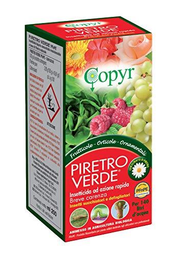 COPYR   Piretro Verde: Insetticidi contro insetti succhiatori e defogliatori - flacone 200 ml