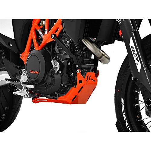 ZIEGER 10005541 Motorschutz Unterfahrschutz Bugspoiler orange