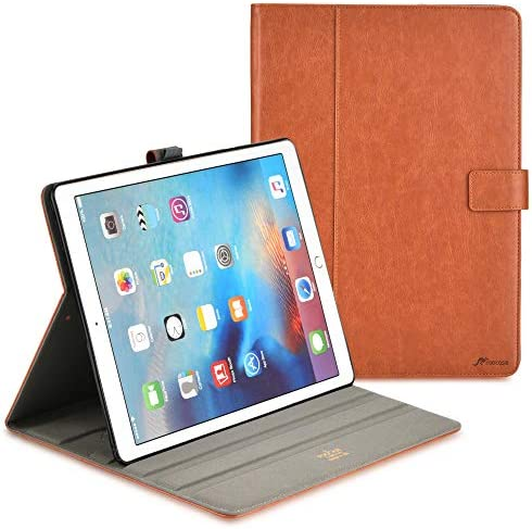 rooCASE iPad Air 10 5 2019 iPad Pro 10 5 2017 Case Leather Folio Case Cover with Apple Pencil product image