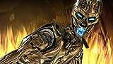 OKJK Rompecabezas de 1000 Piezas para aliviar el estrés para Adultos Casual The Terminator-Robot Teens Niños Educación Inteligencia Clásico Juego de desafío de Papel Imposible