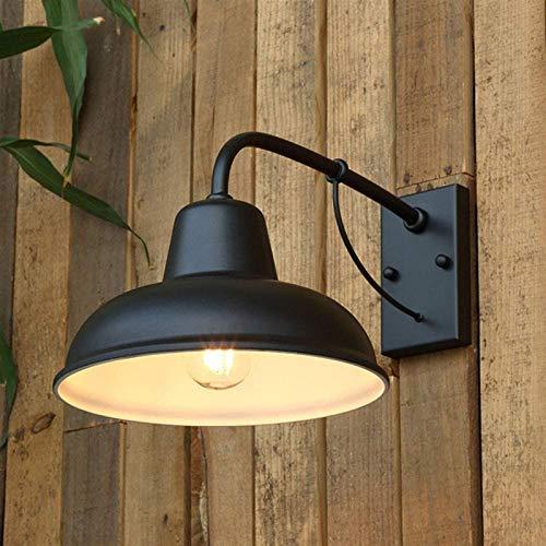 Lámpara de pared Retro Aplique, Lámpara de pared Retro impermeable Lámpara de pared exterior Lámpara exterior Vintage...