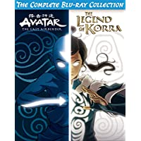 Avatar & Legend of Korra Complete Series Collection on Blu-ray