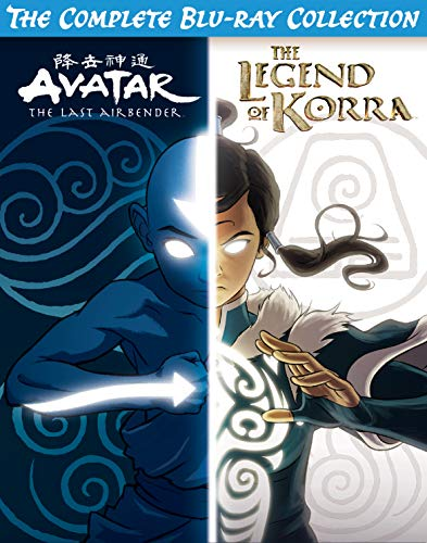 Avatar & Legend of Korra Complete Series Collection [Blu-ray]