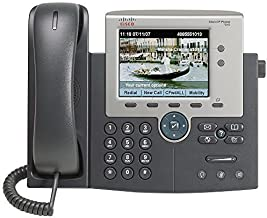 Cisco 7945G Two Line Color Display IP Phone, CP-7945G (Renewed)